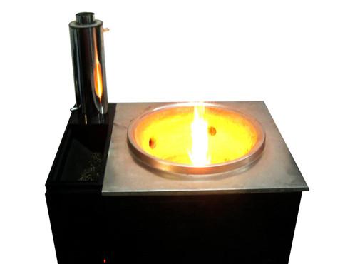 用途之一(生物质燃料炉灶)↑